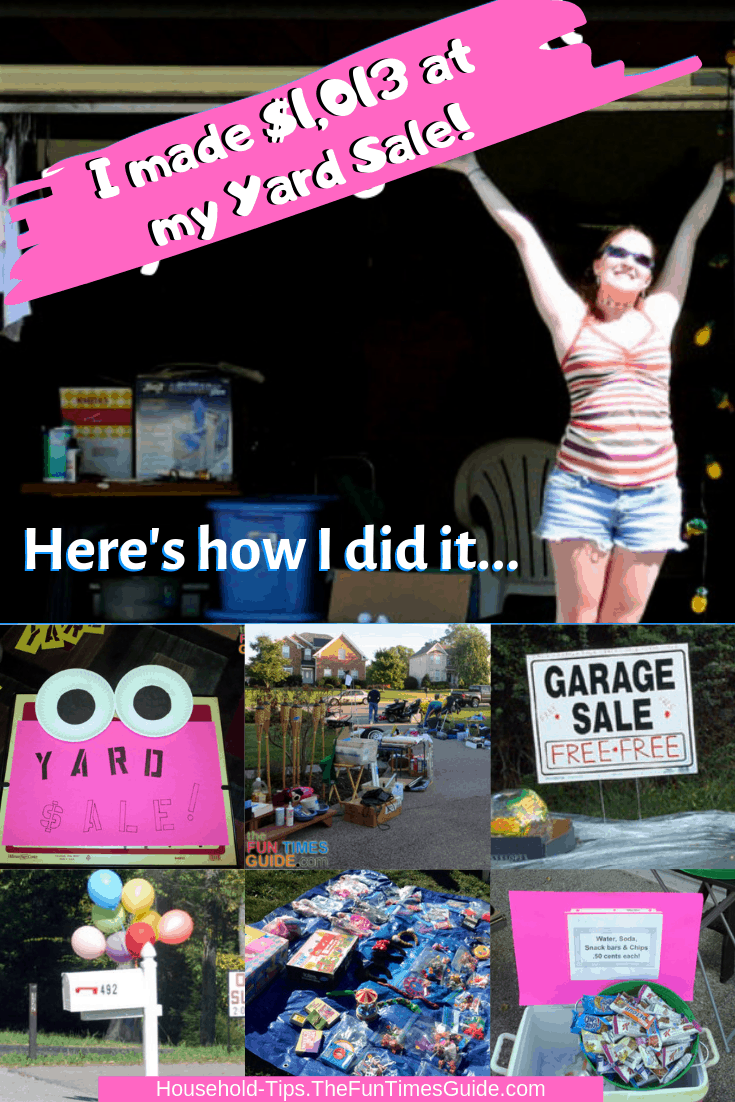 How I Made $1,013 At A Garage Sale - 101 Of My Very Best Yard Sale Tips!
