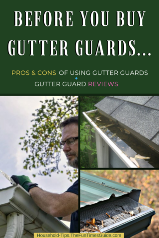 before you buy gutter guards