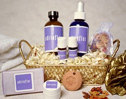 Aromatherapy gift baskets where YOU can pick the Essential Oil scents inside!