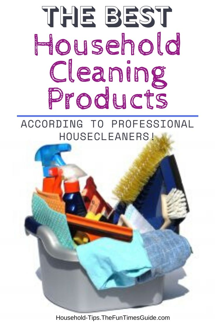 The Best Cleaning Products …From Someone Who Cleans Houses For A Living