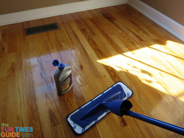 Floor Polish Instead Of Using Floor Wax: How To Make Hardwood Floors ...
