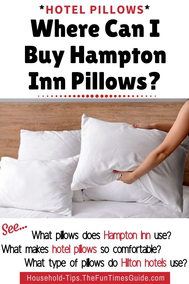 Hampton Inn Hotel Pillows... Worth Every Down-Filled Moment!