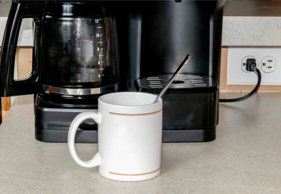 Roaches and coffee are not a good combination, but roaches love coffee... and coffee makers!