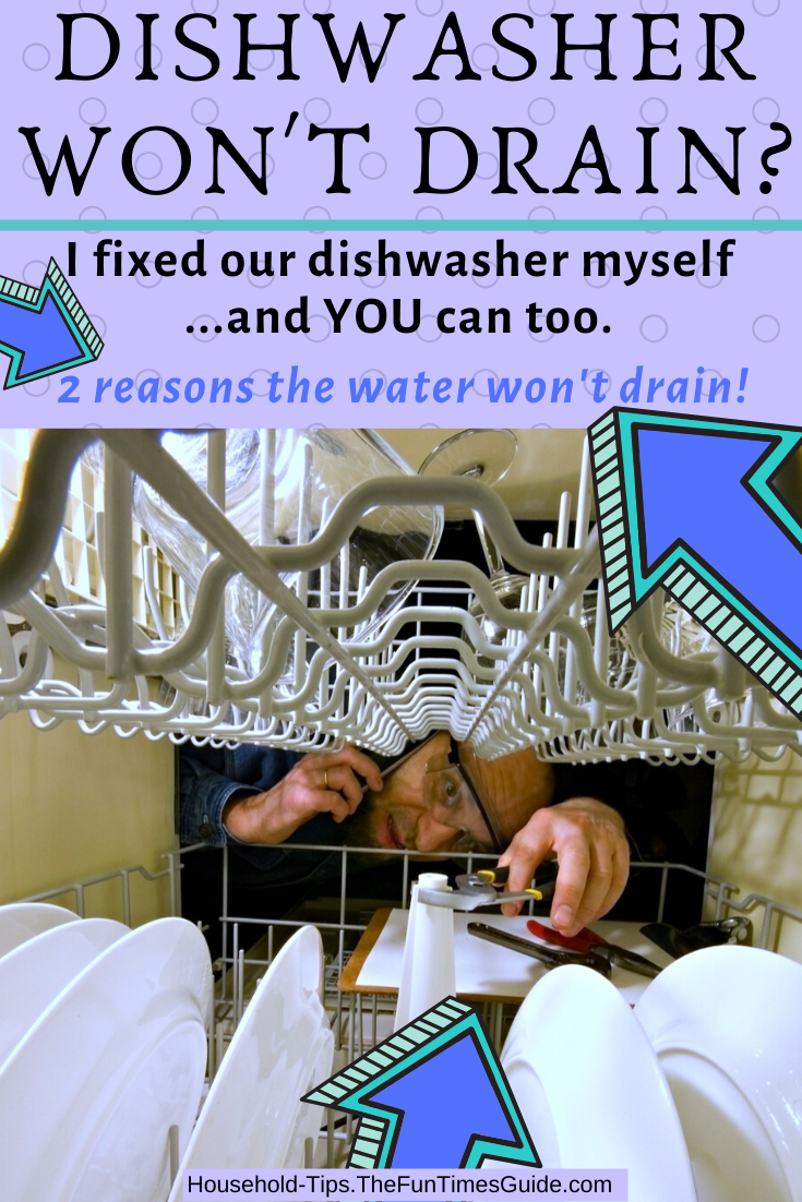 I Fixed Our Dishwasher Water Not Draining! Here\'s How I Did It...