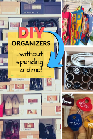 DIY organizers without spending a dime!