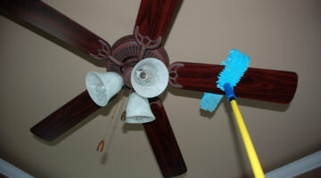 Dust Cleaners: My Favorite Dusting Brush For Ceiling Fans & Mini-Blinds