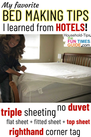 My favorite bed making tips I learned from hotels!