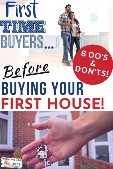 8 do's and don'ts for buying your first house!