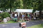 Many areas featured mini flea markets like this in designated areas, rather than yard sales at individual homes.