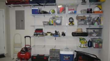 Organized Garages: Attached vs Detached & Finished vs Unfinished