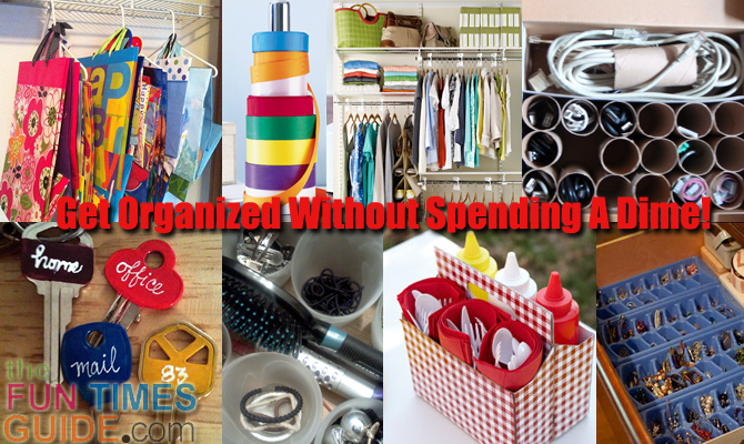 Diy Organization Ideas See How To