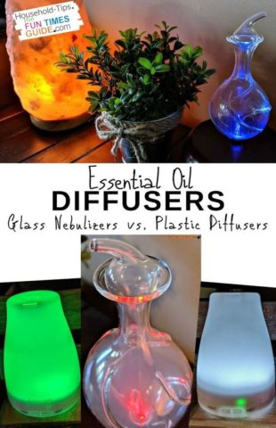 Glass nebulizer diffusers vs. plastic diffusers