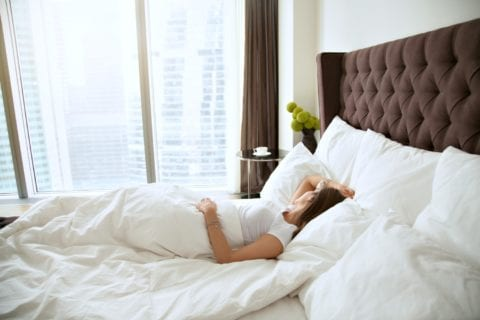 There's nothing like a good night's sleep on luxury bedding. See how to get hotel pillows and bedding for your home!