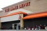 A do-it-yourself Home Depot Kids Workshop.