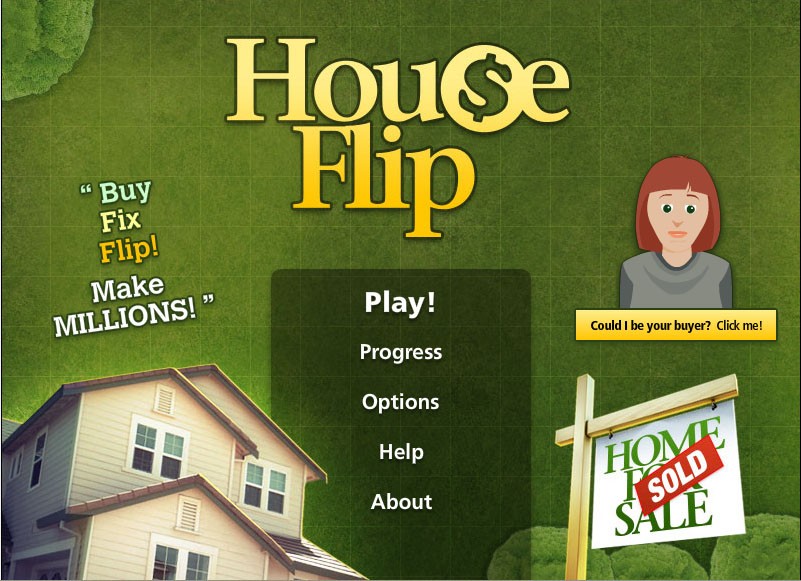 Play 39 house flip 39 online free to test your skill at for Flipping a house tips