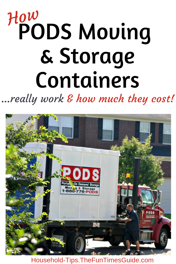 How Those Moving & Storage Pods Work...