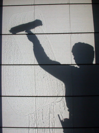 Picture of a window washer