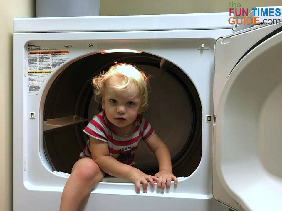 See what I've learned about how to dry bed sheets fast in the dryer. (My mother-in-law was definitely surprised!)
