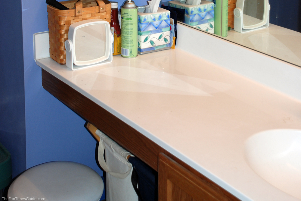 How to clean marble countertops bathroom vanities for Best way to clean slabs