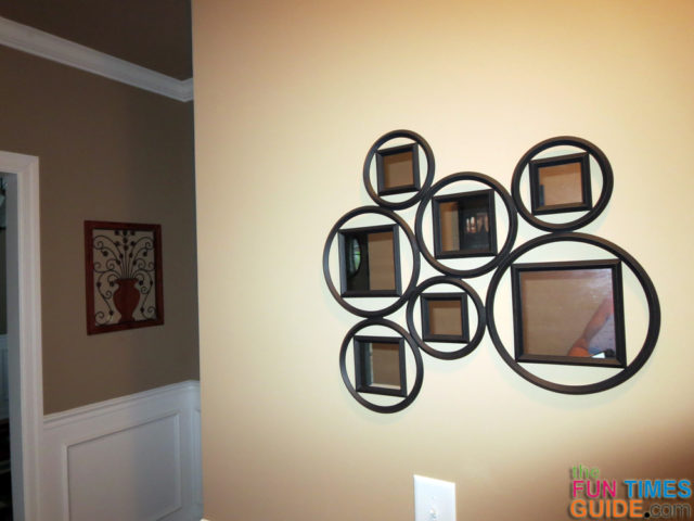 Unique metal wall mirrors