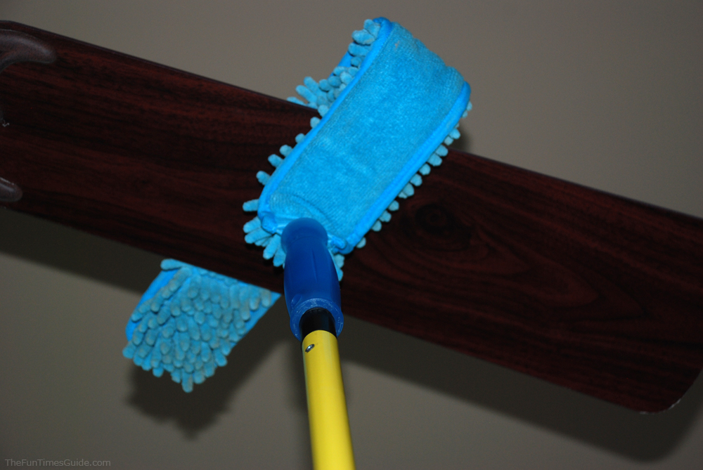 Dust cleaners my favorite dusting brush for ceiling fans mini microfiber ceiling fan dusterg mozeypictures Choice Image