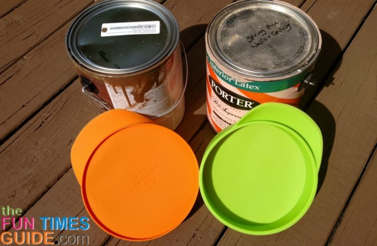 Canned Air Painting : Another paint storage issue solved cansealid silicone