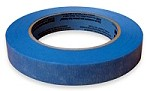 One single roll of blue painter's tape.