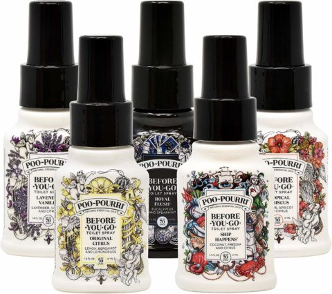 This Poo Pourri sampler is the perfect gift for anyone who poops... and doesn't want to smell it!