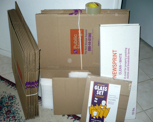 This is an example of a moving kit that you can buy - a bundle of all the moving supplies you need to prepare for your next move.