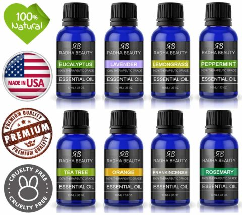 Pure essential oils are the only way to go when you want to use natural scents!
