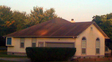 Got Black Streaks On Your Roof? Here's How To Remove Black Algae & Roof Mold
