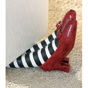 Dorothy's ruby red slippers doorstop.