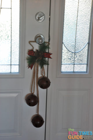Lovely holiday metal home decor rustic christmas bells