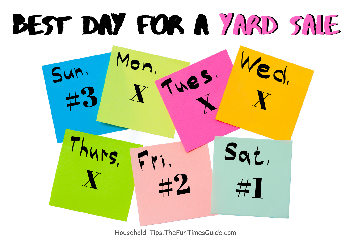 What Is The Best Time To Start A Yard Sale? Is Sunday A Good