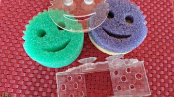 My Review Of 2 Scrub Daddy Sponge Holders: The Official Scrub Daddy Caddy AND The Scrub Daddy Sponge Caddy