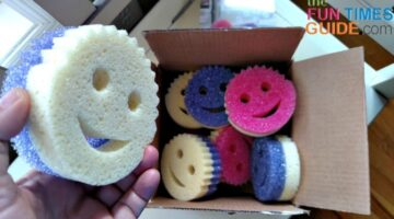 There's A New Smiley Face Sponge! 2 Reasons Scrub Mommy Sponges Are Even Better Than Scrub Daddy Sponges
