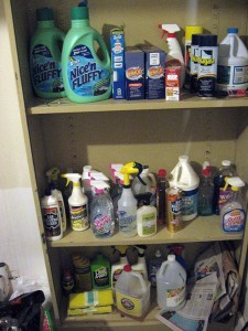 What's the shelf life of cleaning supplies?... Check here... photo by Collin Anderson on Flickr