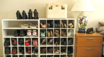 Lots Of Fun Ways To Organize Shoes In Your Home + Tips For Keeping Your Shoes Organized Forever