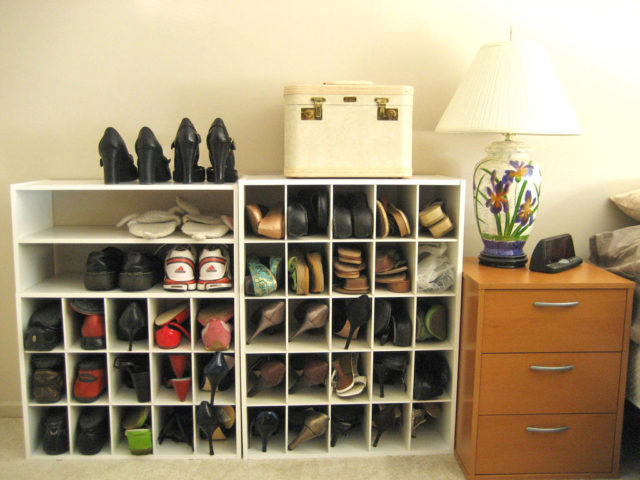 ideas for shoes in garage - Lots Fun Ways To Organize Shoes In Your Home Tips For