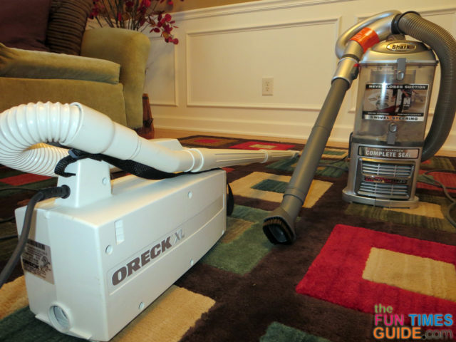 My Shark Navigator Lift Away Vacuum Review Bye Bye Oreck