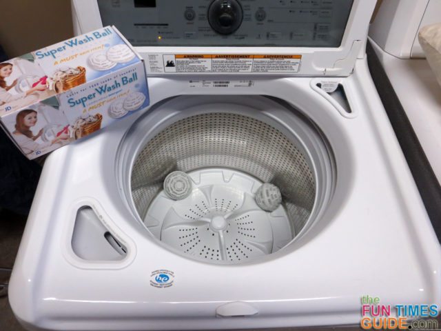Chemical Free Cleaning My Experience Using Laundry Balls