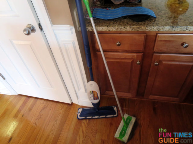 Swiffer Sweeper And Bona Spray Mop