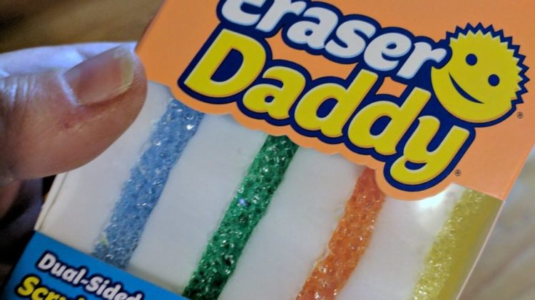 Eraser Daddy Review: Scrubbing Power Without Scratching (Like Scrub Daddy Sponges) + Soft Wiping Power (Like Magic Erasers)