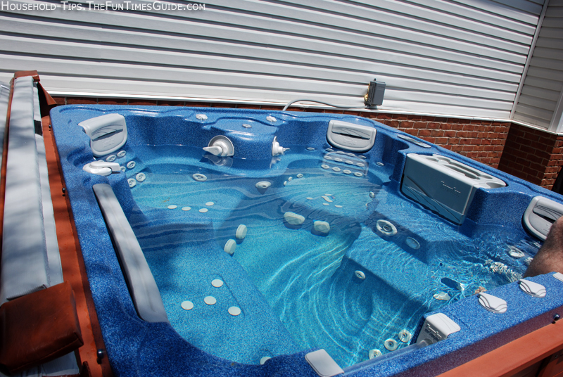 We Got A Thermospas Hot Tub Our First Hot Tub Ever