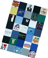 Turn Old T-Shirts Into A Cool Quilt