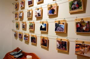 How To Make A Unique Wall of Photos