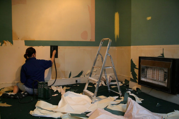 Wallpaper Removal By Ian Wilson