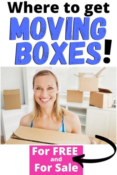 All the places you can get moving boxes for FREE + where to buy moving boxes near you!