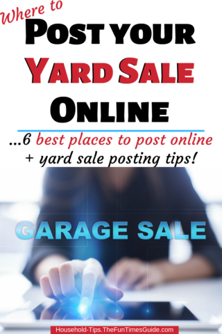 Where to post your yard sale online and in apps