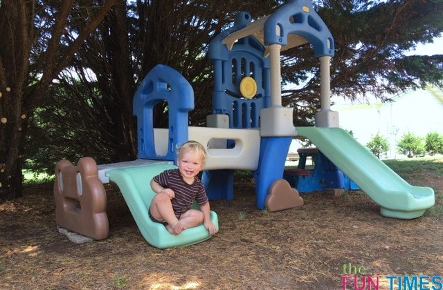 One Mom's DIY Little Tikes Outdoor Climber Makeover: See How To Paint Plastic Outdoor Play Sets To Make Them Look New Again